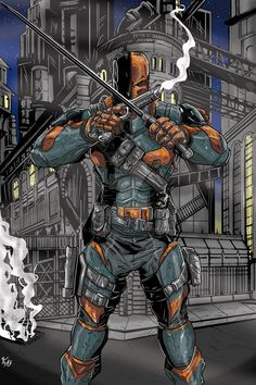 #Deathstroke #Fan #Art. (Deathstroke) By: Darlinginc. (THE * 5 * STÅR * ÅWARD * OF: * AW YEAH, IT'S MAJOR ÅWESOMENESS!!!™)[THANK Ü 4 PINNING!!!<·><]<©>ÅÅÅ+(OB4E)