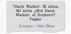 Welcome to my life...: Frases Existence