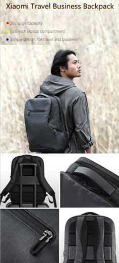 Xiaomi Travel Business backpack, a helpful partner for you to start to explore a new world, right now  - online shopping @ GearBest.com