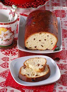 Receta de pan dulce de Navidad. Cómo hacer pan dulce paso a paso. Con fotografías de cada paso, consejos y sugerencias de degustación. Recetas...