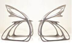 """El proyecto Santo & Jean Ya fue galardonado el primer lugar del concurso Dimueble en la categoría profesional con su diseño """"Butterfly"""", una impresionante silla escultórica que sigue la filosofía de los diseñadores de crear piezas únicas hechas totalmente a mano como forja y fundición."""