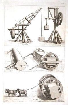 Science - Physical - Heavy equipment, 1600s