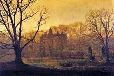 John Atkinson Grimshaw - In the glooming, 1878