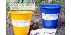 Summer Camp: Scavenger Hunt with FREE Printables