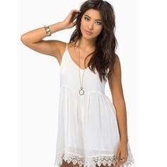 LF Dresses & Skirts - LF White Romper