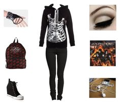 """""""Pandora's Outfit"""" by legacy-6 ❤ liked on Polyvore featuring DKNY and Abbey Dawn"""
