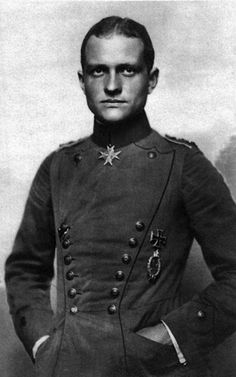 Manfred von Richthofen, the Red Baron.