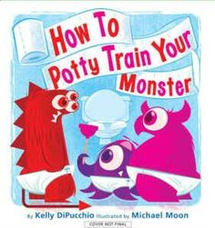 How To Potty Train Your Monster. See more useful tips at http://www.pottytrainingchild.com/best-books-to-help-parents/