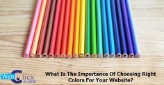 What Is The Importance Of Choosing Right Colors For Your Website?
