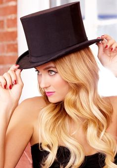 Lauren Conrad looks great in this top hat. Who knew Lincoln would inspire a ladies fashion trend in 2012!