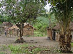 Village in the Democratic Republic of Congo