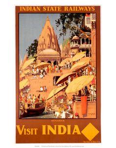Visit India, Indian State Railways, c.1930s