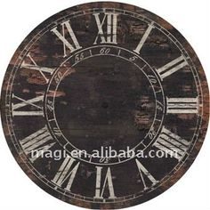 Promotional Old Style Round Decorative Wall Clock, View Wall Clock, Magi Product Details from Fuzhou Magi Arts & Crafts Co., Ltd. on Alibaba.com