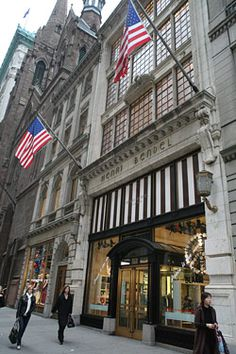 TRAVEL THE MARBLE STAIRCASE TO THE 2ND FLOOR OF ICONIC 5TH AVE HENRI BENDEL TO SHOP DAUPHINES: 712 Fifth Avenue