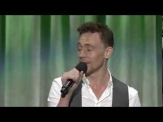 "Tom Hiddleston singing 'The Bare Necessities"". Why? Because Tom Hiddleston, that's why."