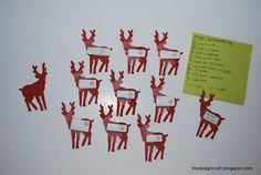 """SOOO FUN!! """"The Christmas Eve Reindeer Games""""...a perfect mix of interactive games for kids and adults! FREE printables!"""