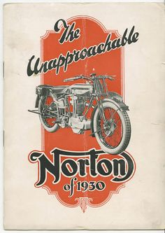 Motos-anciennes-1930-Norton-motorcycle-company-Birmingham-West-Midlands-Angleterre-Europe.