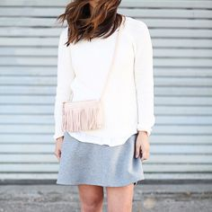 Fringe and neutrals on the blog today. Image via @crystalinmarie