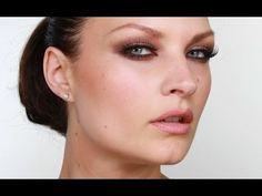 Emma Willis Long Lasting Smokey Eye Makeup Tutorial - obviously not destiny godley but I LOVE smokey eye on this.