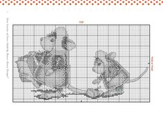 `House Mouse Halloween Cross Stitch
