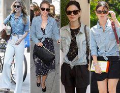 Como usar camisa jeans no dia a dia