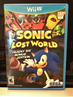 Nintendo Wii U Sonic lost world deadly six bonus edition