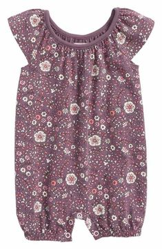 Peek Elise Bubble Romper (Baby Girls)