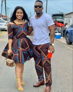 Couples African Outfits, African Dresses Men, Latest African Fashion Dresses, African Print Fashion, African Prints, Ankara Fashion, Africa Fashion, African Fabric, African Women