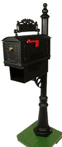 Curbside Mailbox with Ornamental Address Plaque and Newspaper Holder - Modern Cheap Mailboxes, Security Mailbox, Mailbox Landscaping, Thing 1, Address Plaque, Home Safety, Historic Homes, Beautiful Interiors, Own Home
