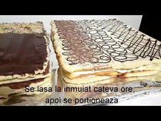 Foi pentru prajituri - Reteta pentru 6 foi S-ar putea sa iti placa si: Cre. Romanian Desserts, Cake Recipes, Picnic, Deserts, Sweets, Healthy, Videos, Ethnic Recipes, Food
