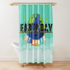 Add a warm and cozy touch to your bathroom decor with a shower curtain. Earth Day, Bath Accessories, Warm And Cozy, Floor Pillows, Wall Tapestry, Tub, Curtains, Shower, Bathroom