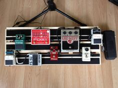 The $11 DIY Guitarist's Pedal Board The Velvet Chameleon