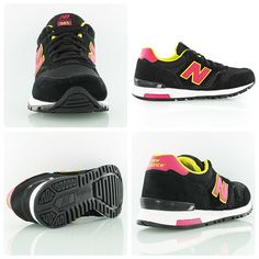 New Balance WL565 black/pink/yellow