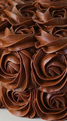 Whipped Chocolate Buttercream Frosting