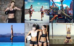 Instagram als Motivation - 20 Fitness-Accounts, die Lust aufs Training machen: http://on.elle.de/1H96Vui