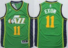 Men NBA Jerseys · Utah Jazz  11 Dante Exum Revolution 30 Swingman 2014 New Green  Jersey Dante Exum 2a31dd379