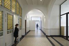 DP6 architectuurstudio heeft het rijksmonumentale pand aan de Kanaalweg in Delft geschikt gemaakt voor diens nieuwe functie.