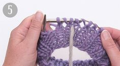 How to work a jumper top down - DROPS Lessons / Knitting lessons