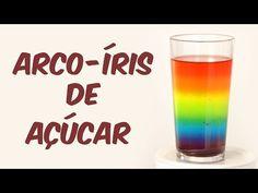 Beba um arco-íris (experimento de Física) - YouTube
