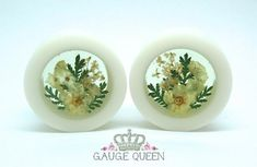 Skip floral... go for REAL flower plugs!