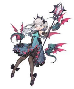 Game Character Design, Fantasy Character Design, Character Design Inspiration, Character Concept, Character Art, Fantasy Characters, Female Characters, Anime Characters, Anime Girl Cute