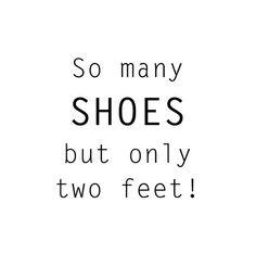So many shoes but only two feet! Bij Aldoor shop je alle schoenen in de uitverkoop #sale #shoes #shopaddict #fashion #quote
