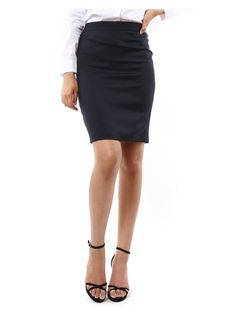 The black skirt I bought just in case the other black and white dress I bought / had to cause the one they sent first was midnight blue not black and the wrong size. Got a cute blouse to go with the skirt too & black hose and shoes.... It never ends lol!