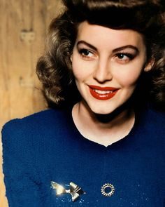 What a gorgeously vibrant shot of Ava Gardner... as though it was captured just yesterday