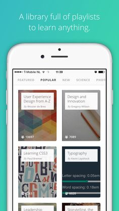 Gibbon App: UX and Design education on the go :)