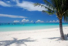 White Beach on Boracay Island – which is said to be one of the most beautiful beaches in the world.
