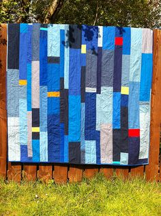 Check out the quilts on this site and the charity they go to.