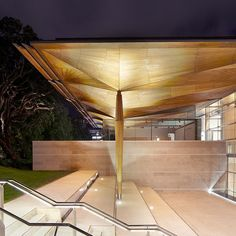 Auckland Art Gallery Toi o Tamaki in New Zealand, which was designed by Australian architecture studio Frances-Jones Morehen Thorp together with New Zealand studio Archimedia, is an extension and refurbishment of an existing gallery.