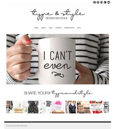 Fashionable, feminine and strong art for the trendy woman. Using Bluchic Feminine WordPress Theme http://www.bluchic.com/shop/wordpress-themes/isabelle-theme