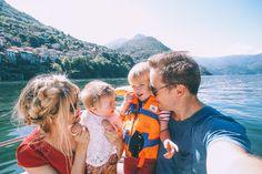 Barefoot Blonde Amber Fillerup in Lake Como
